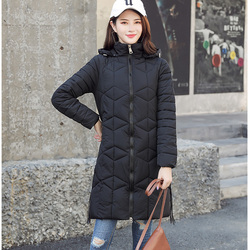 Winter Jacket Female Parka Coat Plus size 4XL Fashion Down Jacket Long Hoodie Down Thick Long Coat Jacket Women Clothing 4