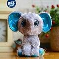 6 ''ty beanie боос оригинальные серые модели слон кукла фигурки симпатичные слон мягкие игрушки подарок