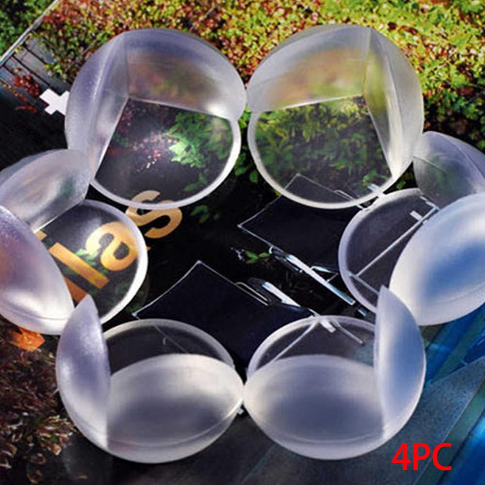 4 шт./упак. Настольный Угловой протектор Детский защитный чехол для кресла мягкий прозрачный упругий стол угловой край защитный чехол