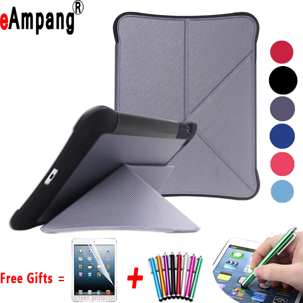 Tablet Case Cover for Apple iPad 2 3 4 9.7 inch Shockproof Folding Kickstand Auto Awake Smart Case for iPad 2 3 4 Capa Funda for apple ipad 2 ipad 3 shockproof case kenke cover for ipad 4 retina smart case slim designer tablet pu for ipad 4 case