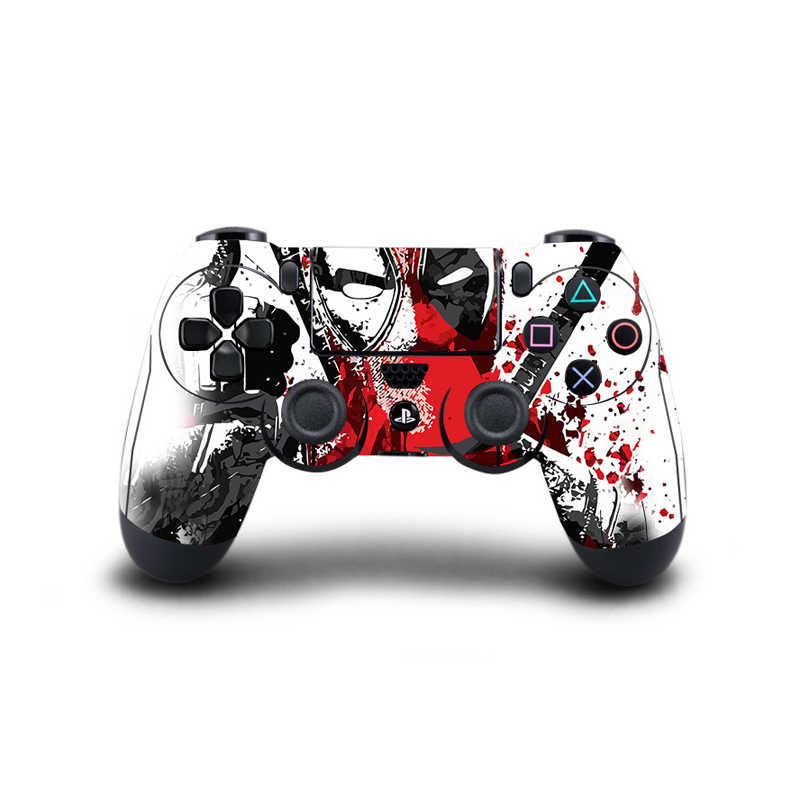 Game Controller Stickers Full Cover For Play Station 4 Dualshock 4 Gamepad Video Vinyl Skins Decals Stickers Protector
