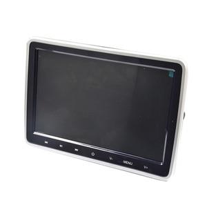 Автомобильный монитор для подголовника XST, 2 шт., 10,1 дюйма, 1024*600, dvd-плеер, USB/SD/HDMI/IR/FM TFT LCD Сенсорная кнопка, 32 бит, игровой пульт дистанционного ...
