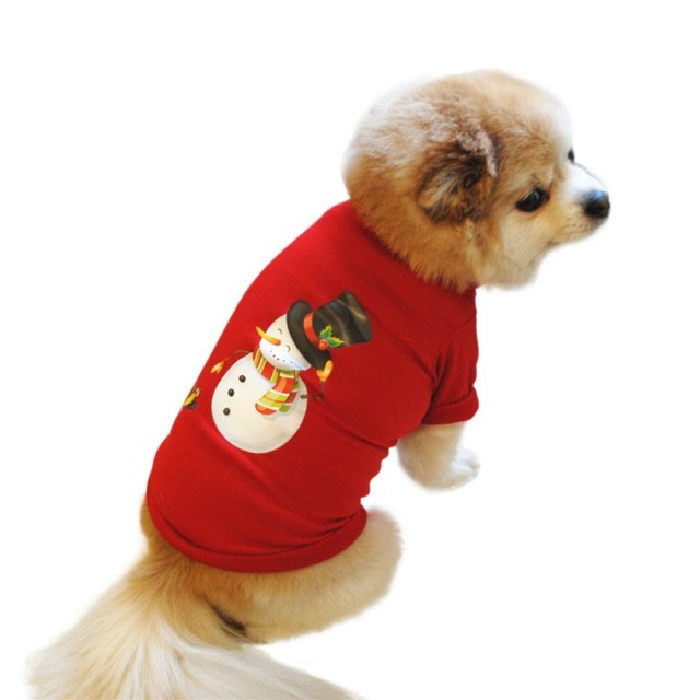 Cotone invernale Cane Costume Di Natale Pet Vestiti Caldi Pet Gatto Con Cappucci