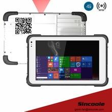 4G LTE intel z8300 4GB 64GB windows 10 pro 2D barcode rugged smart Tablets