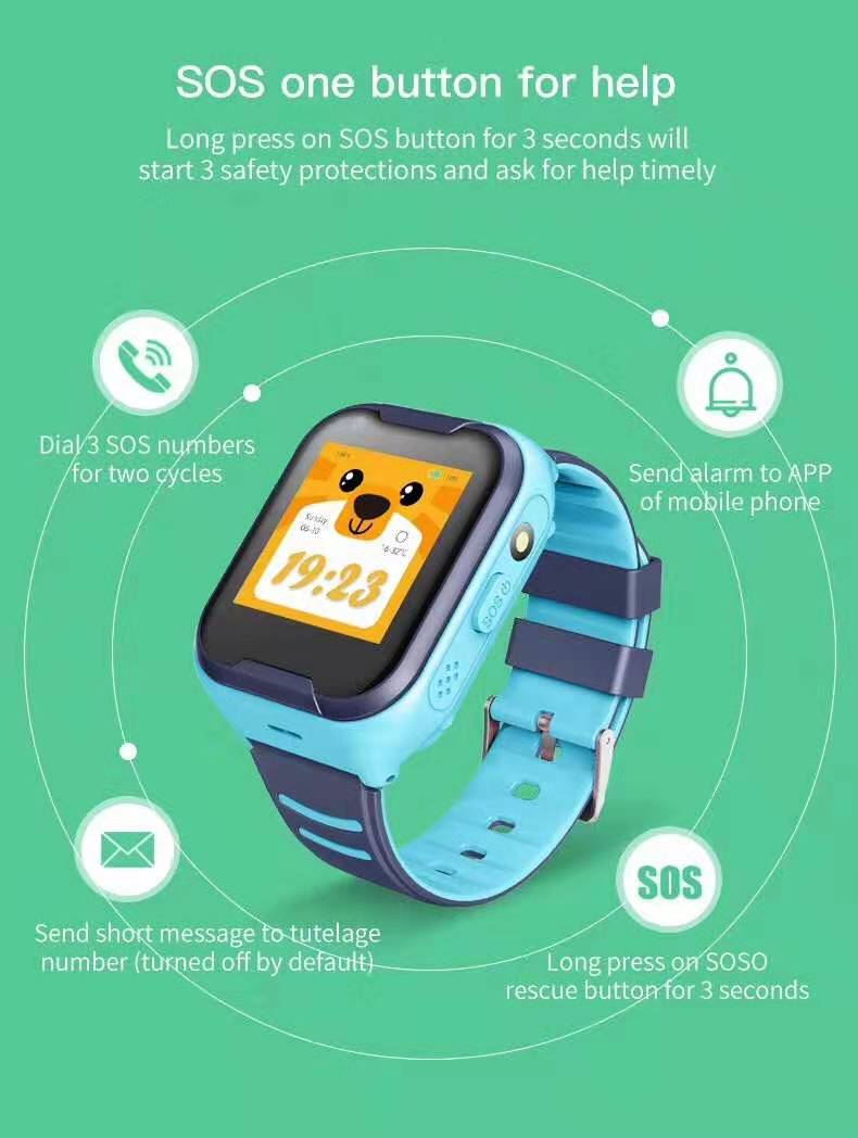 LEMFO G4H 4G Kids Smart Watch With GPS Wifi Ip67 Waterproofness 1.4 Inch Display And Camera 5
