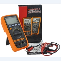 Auto Range Digital Multimeter VC86 3 1/2 1000V DMM Temperature Meter w/NCV hFE Test & LCD Backlight Vici Multimetro Tester