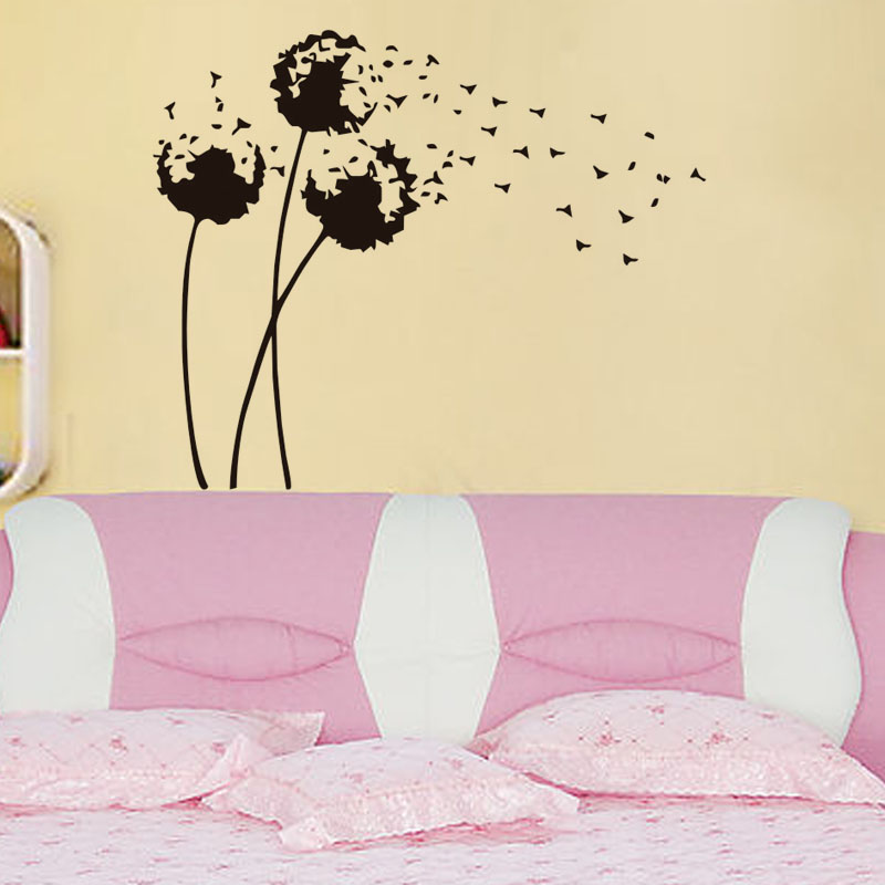 Art new design big size home decoration Dandelion flower wall ...