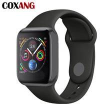 COXANG W54 Smart Watch Men Women 1.54 Inch Voice Control Pedometer Heart Rate Blood Pressure Smartwatches For Apple IOS Android