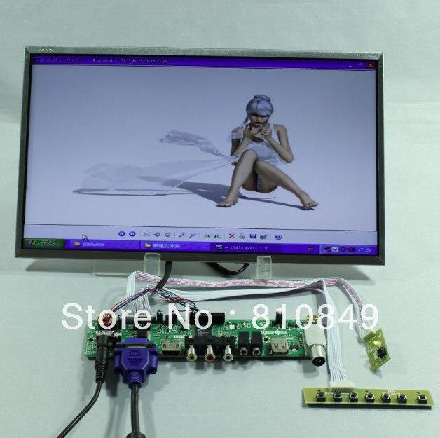 TV/HDMI/VGA/AV/USB/AUDIO LCD controller Board+14inch LTN140AT26 1366*768 lcd LTN140AT02 LTN140AT07 LP140WH1 BT140XW02 HT140WXB hdmi vga av audio usb fpv control board 13 3inch 1366 768 n133bge lp133wh2 lcd screen model lcd for raspberry pi