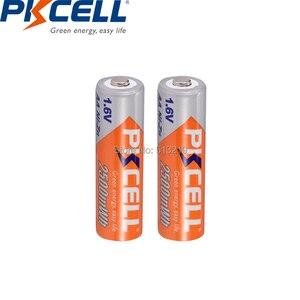 Image 3 - 10個pkcellバッテリーaa ni zn系aa充電式バッテリー1.6v 2500mWh bateria充電式batteriesforおもちゃカメラ電池