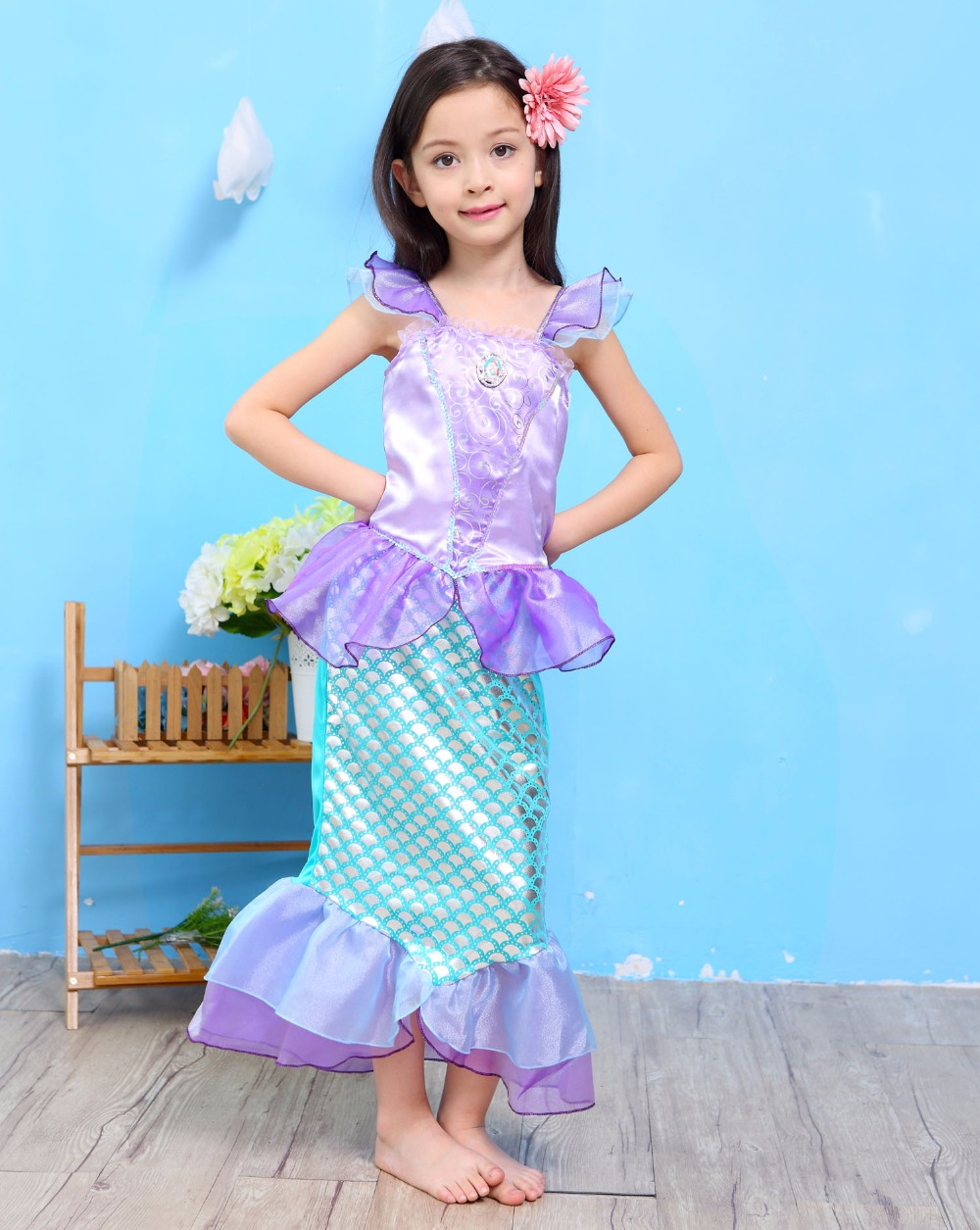 Popular Mermaid Dress for Kids