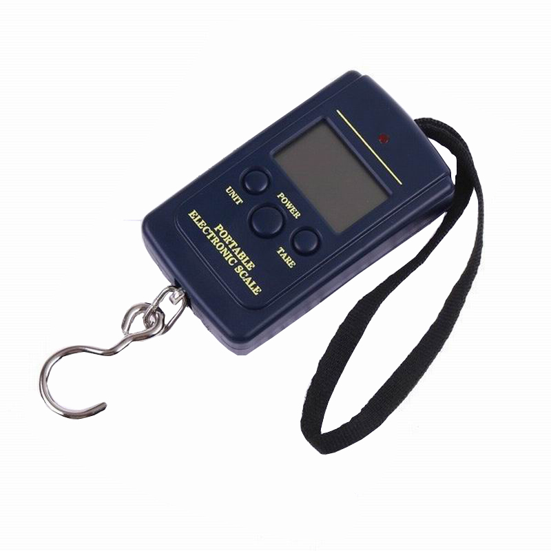 Hot Multifunctional Portable Mini 40kg/10g  Fishing Electronic Weighing  Balance Digital Scale Handy Pocket Weight Hook Scale 2