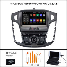 Android 7.1 Quad Core CAR DVD Player for FORD FOCUS 2012 CAR STEREO NAVIGATION+1024X600 HD SCREEN WIFI/3G RDS+16GB flash