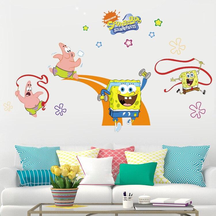 PATRICK STAR Spongebob Squarepants Decal Removable WALL STICKER Home Decor Art