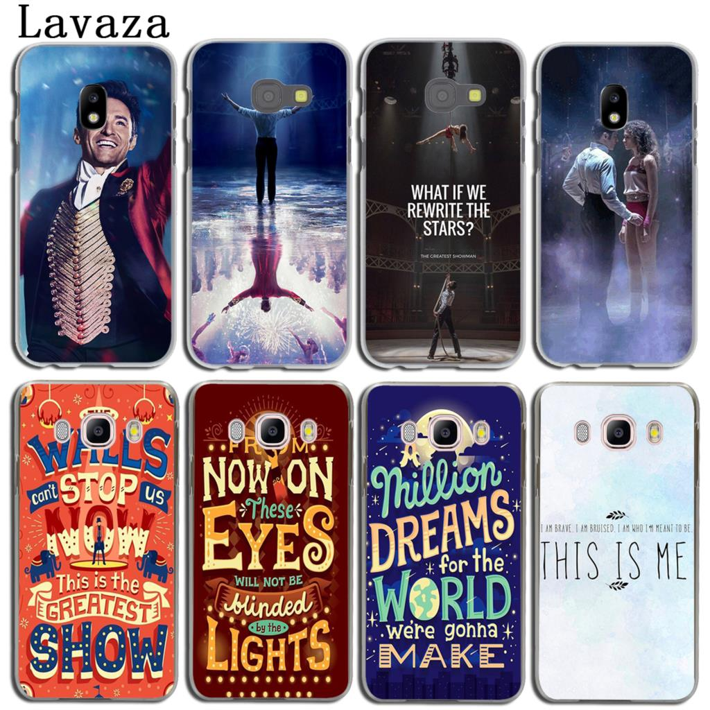 Lavaza The Greatest Showman Phone Shell Case for Samsung