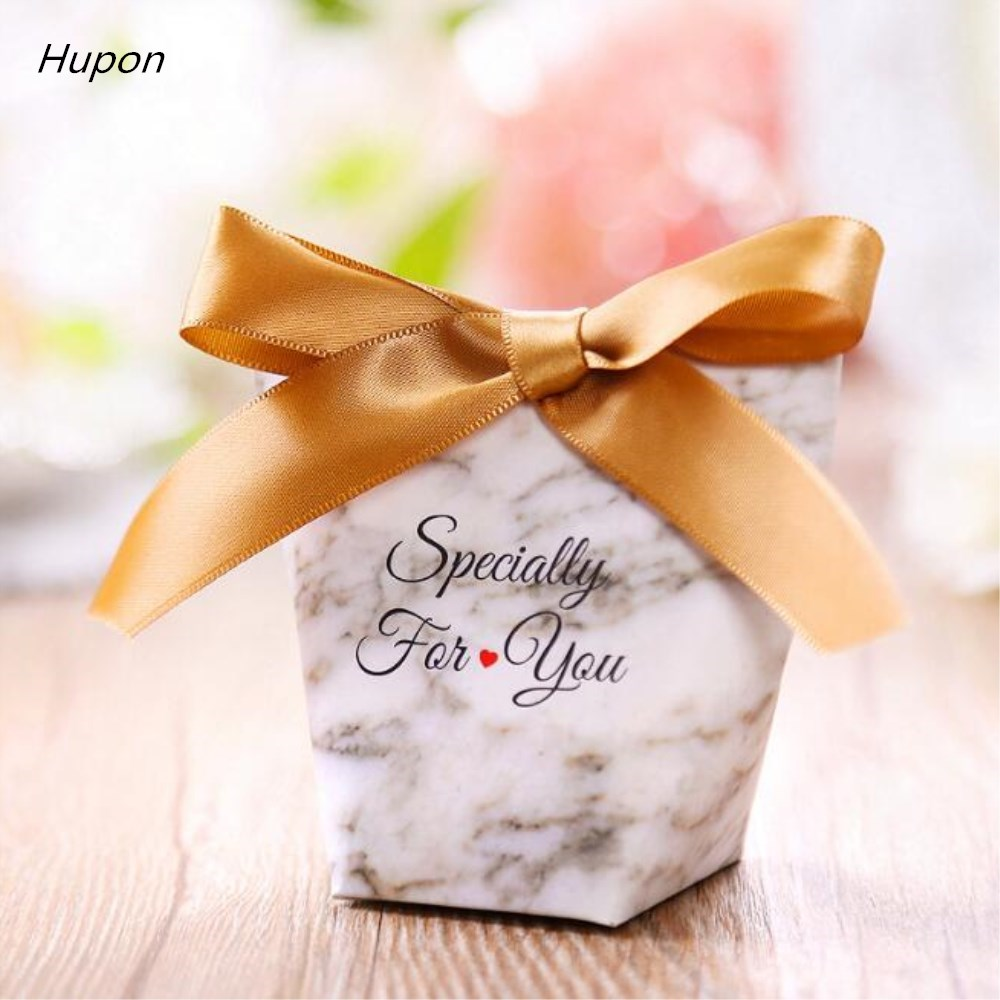 100pcs Specially For U Candy Boxes Wedding Gifts Guests Favor Box