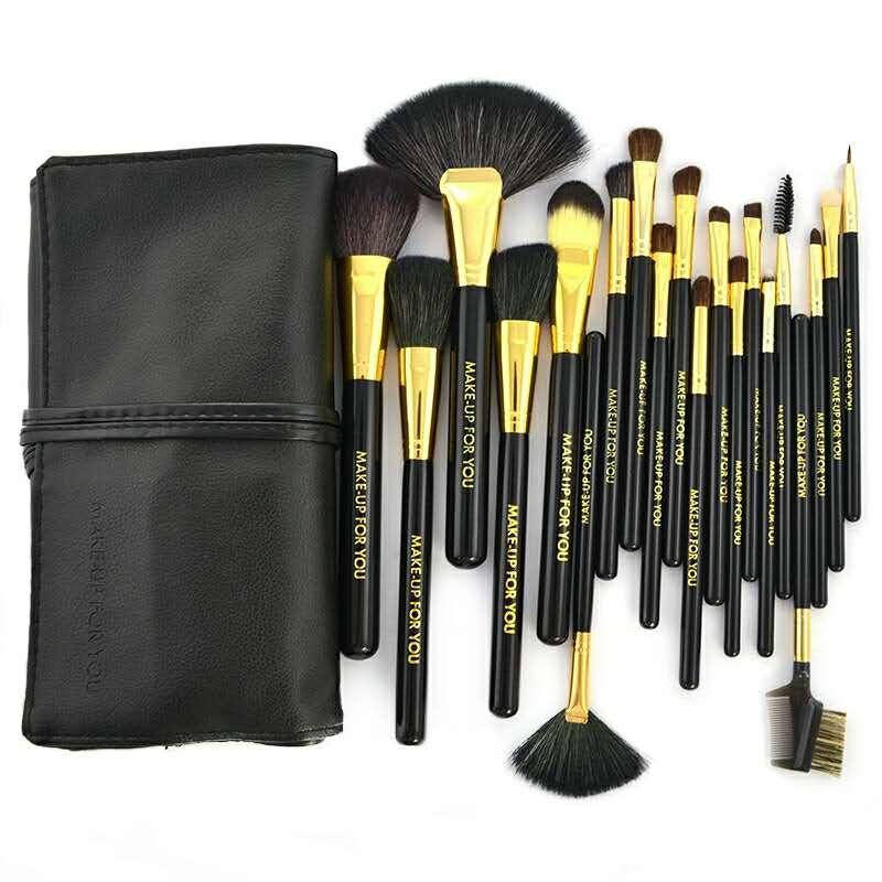 все цены на 20Pcs Eye Shadow Foundation Eyebrow Eyeliner Eyelash Lip Brush Makeup Brushes Cosmetic Tool Make Up Eye Brush Set онлайн