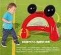 2016 Caliente Del Bebé Puerta de la portería de Fútbol Inflable Bola Juguetes Para Niños Agarrando Capacidad de movimiento Desarrollar Toy Desarrollo Temprano