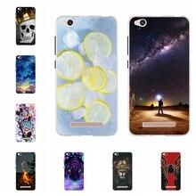 For Xiaomi Redmi 4A Case Ultra-thin Soft TPU Silicone Cover Cute Dog Patterned Coque Bumper