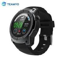 Teamyo Akıllı Bandı Nabız Dial Çağrı GPS Izci akıllı Saat Destek SIM TF Kart smartwatch hava basınç alarmı saat