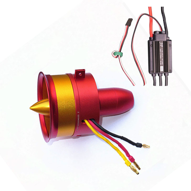Hot Sale Metal JP 70mm Ducted Fan EDF ESC Set Jet 12 Blade 2s-6s Lipo Motor Electric for RC airplane Model Accessories Parts hot new nc4d jp dc5v nc4d jp dc5v nc4d jp dc5v nc4d dc5v 5vdc 5v dip14