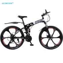 Altruism X9 Route De Vélo De Montagne Bikes pouces En Acier 21-vitesse Vélos à Double Freins À Disque À Vitesse Variable Route Bikes Vélo De Course