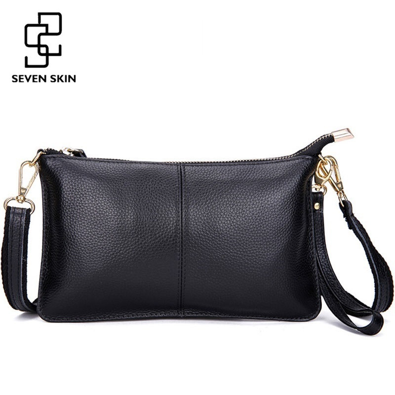 2017 New Genuine Leather Women Messenger Bags Famous Brand Women Shoulder Bag Envelope Women Day Clutch Bag Small Crossbody Bag famous brand new 2017 women clutch bags messenger bag pu leather crossbody bags for women s shoulder bag handbags free shipping