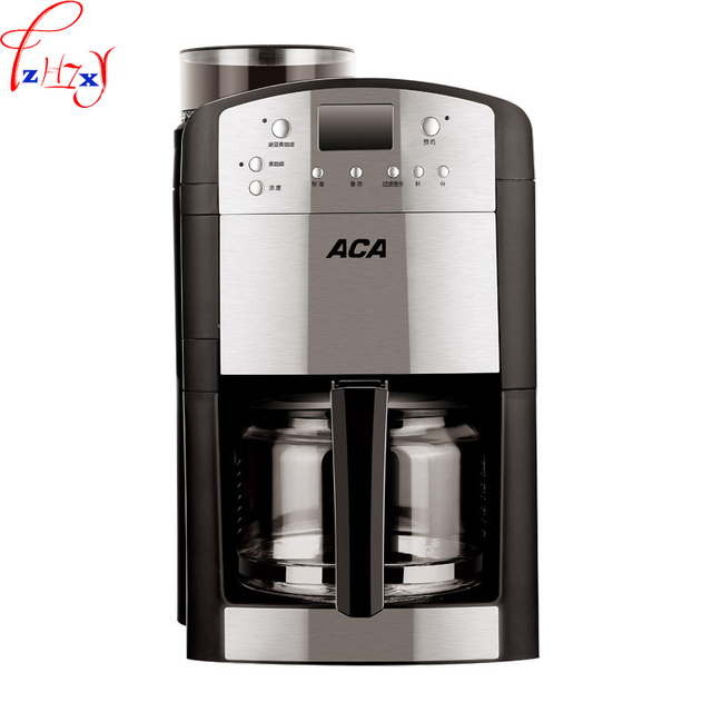 AC-M125A voll automatische kaffee maschine multi-funktion kaffee maker & grinder hause/büro kaffee tee trinken maschine 1.25L 220 V