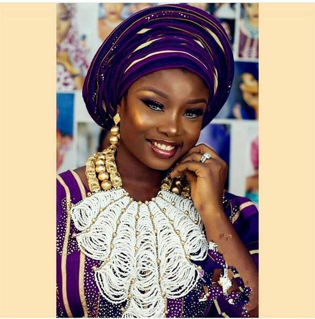 Luxury Flower Bib Statement African Beads Jewelry Sets Nigerian Wedding Crystal Beads Bridal New Free Shipping