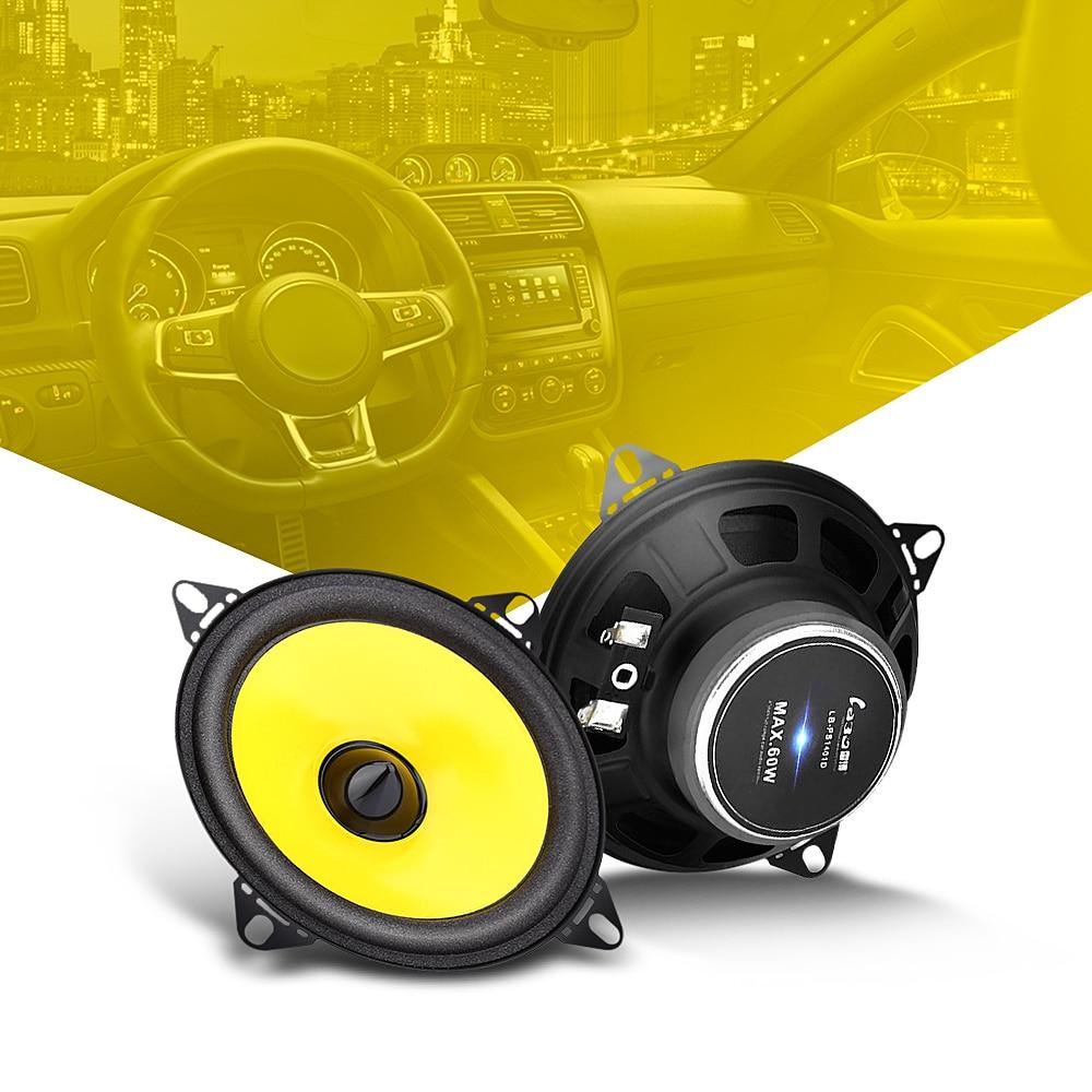 LABO LB - PS1401D Paired Car Speaker 4 inch Vehicle Loudspeaker Car Automobile HiFi Full Range Speaker Super Power Car Audio