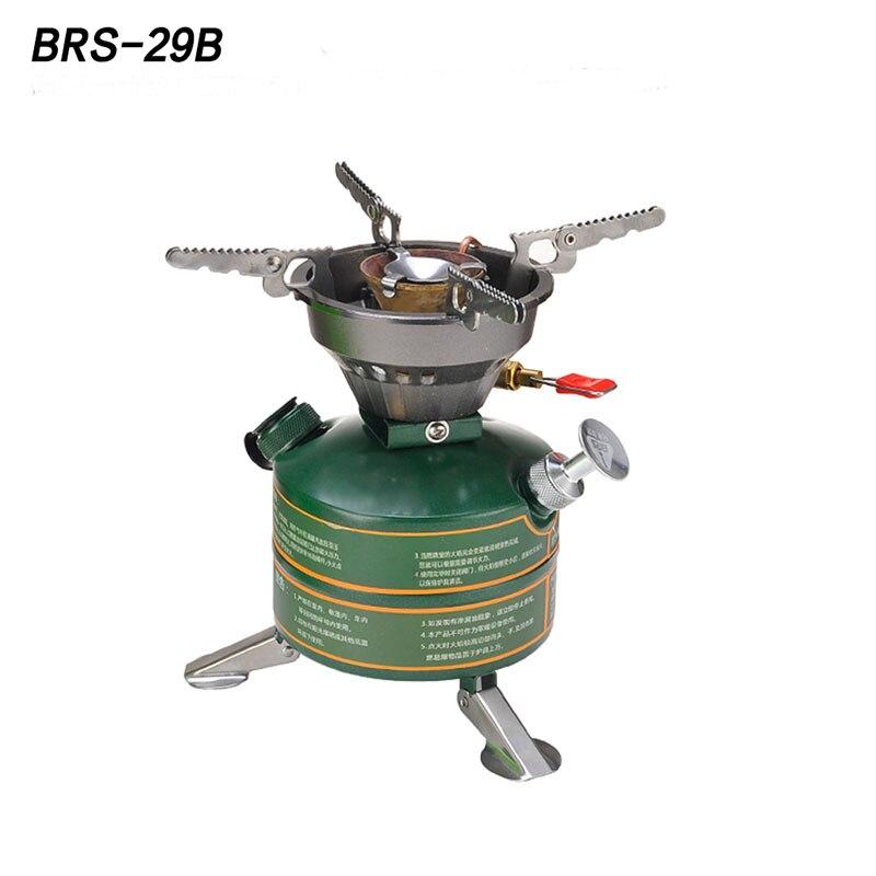 BRS-29B Alta Qualità Cottura di Campeggio Esterna Portatile Stufa A Petrolio Benzina Olio Combustibile Caldaia Non Preriscaldamento BurnerFurnace Fornello
