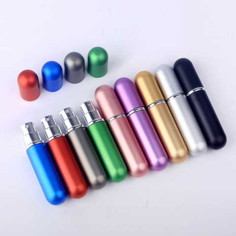 5 pecas 5ml atomizador garrafa de perfume