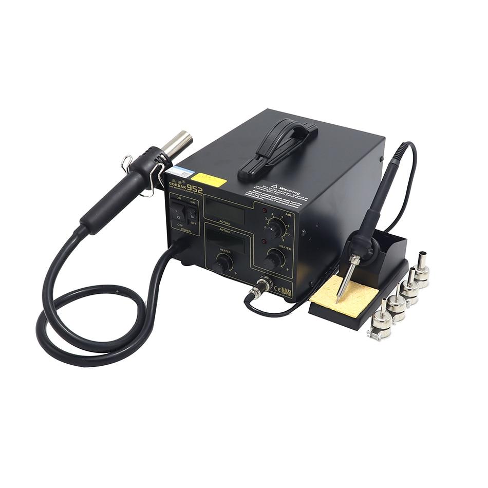 Tools : GORDAK 952 patch rework station BGA motherboard repair soldering station soldering iron   hot air gun air station