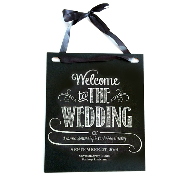 Wedding Rustic Signs Personalized Wood Sign Gift Reception Directional Arrow