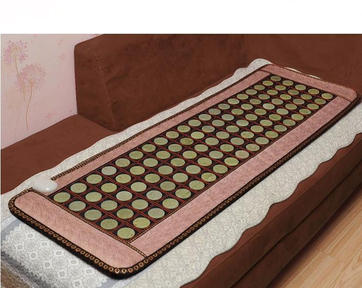 2016 High Sale Infrared Heated Tourmaline/Germanium Stone Massage Mat Korea Mattress Heating Massage Korea Tourmaline Mat 2016 electric heating natural tourmaline mat korea tourmaline germanium thermal mattress free shipping 1 0 1 9m