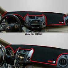 цена на For Toyota RAV4 RAV-4 2018 2017 2016 2015 Car Dashboard Mat Cover Pad Anti-UV Sun Shade Instrument Panel Carpet Car Accessories