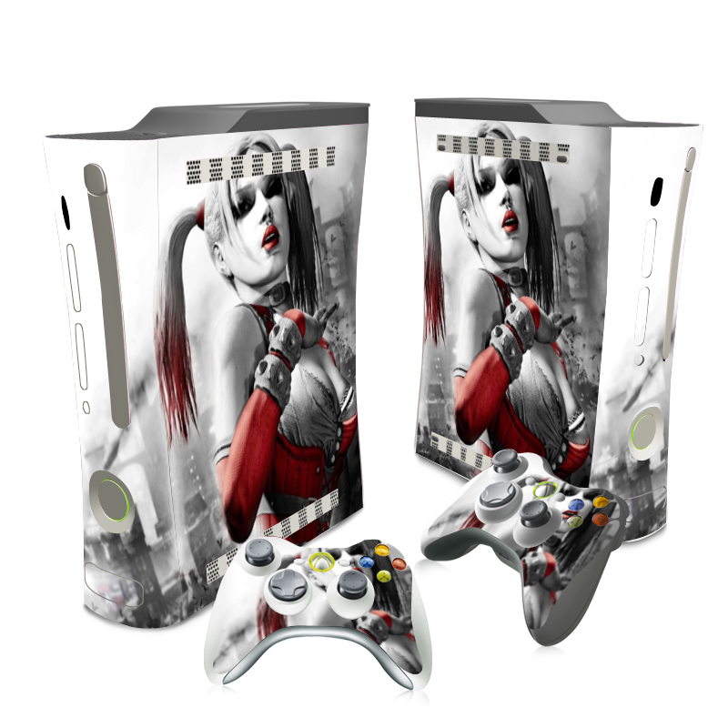 Xbox 360 Games For Girls : Sexy game girl new vinyl host skin sticker protector