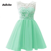 Girls Party Wedding Formal Dress Kids Lace Prom Full Long Dress Children Teenager Ceremony Peagant Gown