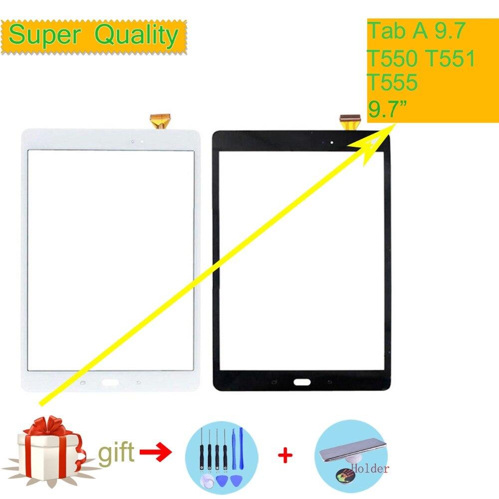 Original Para Samsung Galaxy Tab 9.7 SM-T550 SM-T551 SM-T555 T550 T551 T555 Tela Sensível Ao Toque Do Sensor Do Painel de Toque Digitador Da Tela