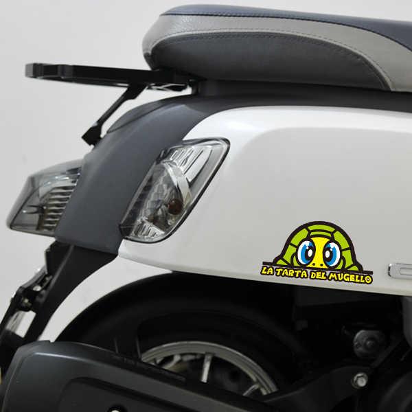 車のスタイリングステッカー Gp ボディバイクヘルメットデカールトータス