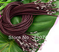 topstore 50PCS Waxed Cotton Cord Strap String Thread Coffee 2mm FASHION