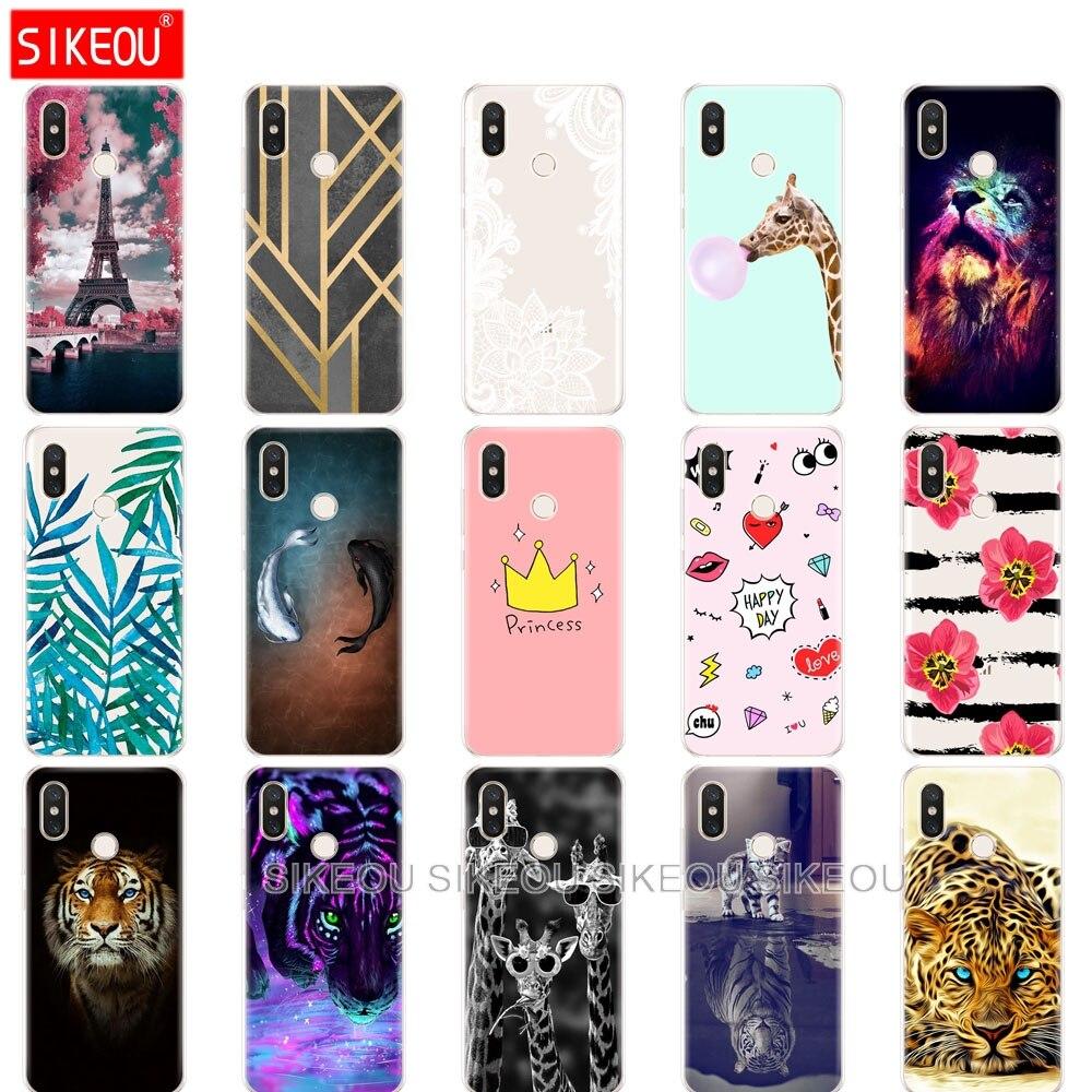Silicone Case For Xiaomi Redmi 6A 6 Pro Case For Xiaomi Mi 8 SE A2 Lite S2  Phone Back Cover Coque Etui Bumper