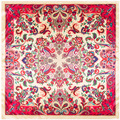 90 cm * 90 cm Bohemia anacardo flores imprimir pañuelos de seda cuadrados 2017 nueva mujer de cuello Redondo de la bufanda pañuelos hijab A378