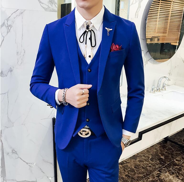 Unusual Blue Prom Suit Gallery - Wedding Dress Ideas - sagecottage.us