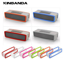 Gosear Silicone Cover Box Protector Case Shell for Bose SoundLink Mini 1 2 Sound Link I II Bluetooth Speaker Caso Capa Fundas(China)