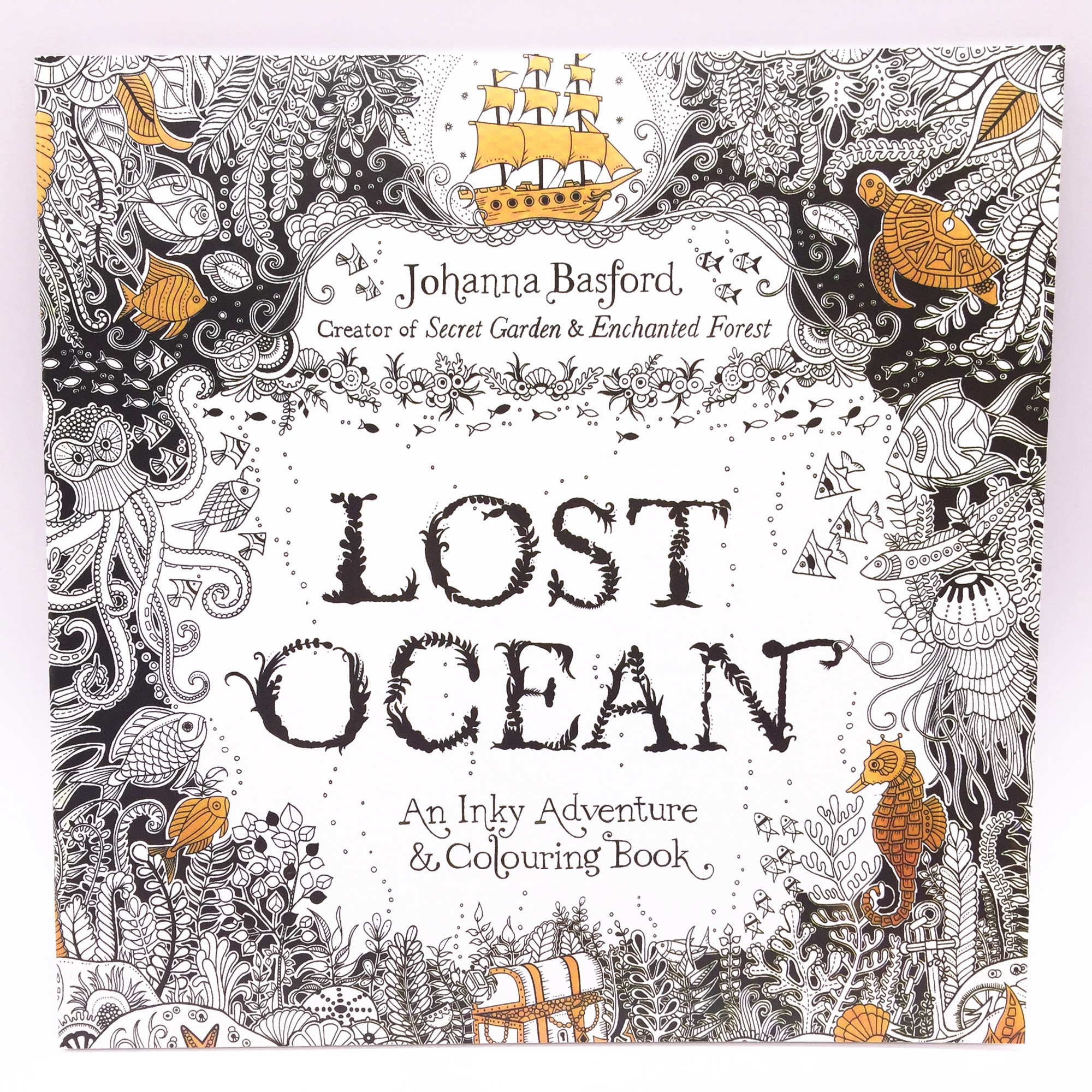 The enchanted forest colouring book nz - 88 Pages English Lost Ocean Edition Colouring Book For Children Adult Relieve Stress Kill Time Graffiti