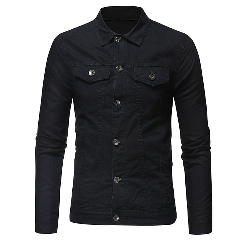 DIMUSI Spring Mens Denim Jacket Fashion Male Jeans Jackets Slim Fit Casual Streetwear Vintage Men Jean Outwear Clothing.TA325 2
