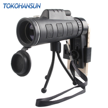 TOKOHANSUN 40X Zoom Monocular Mobile Phone Telescope Para Celular Lens Zoom Camera Lenses for Smartphone Camera Lens Telephoto цена