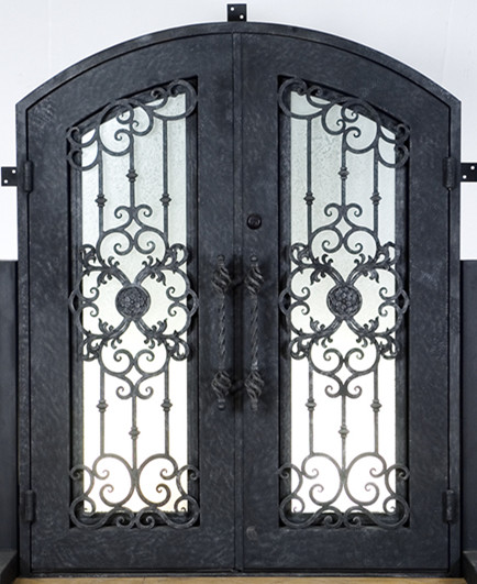 Hench 100% Steels Metal Iron Metal Glass Door