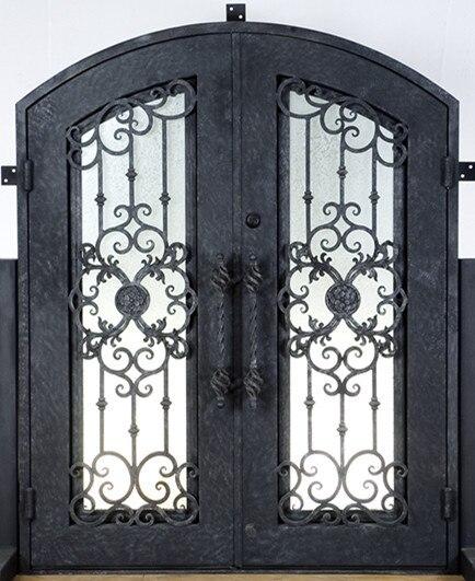 Porte d\'ingresso in ferro prezzi in metallo porta di vetro in Porte ...